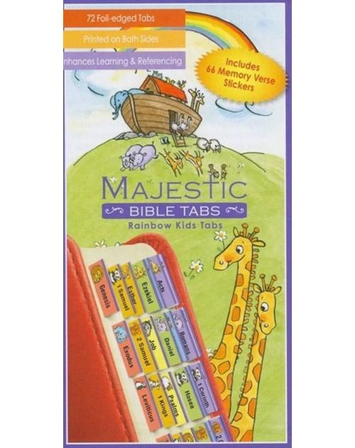 Rainbow Kids Bible Tabs