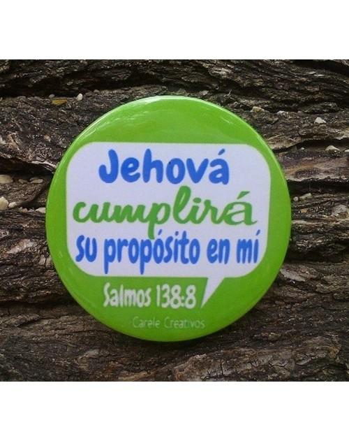 Broche Jehova cumplira