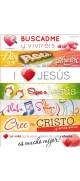 Stickers Cristianos (Combo 4 )