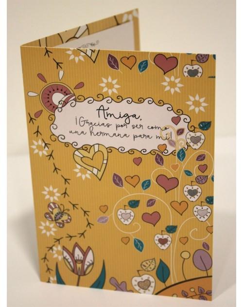 Tarjeta Cristiana Felicitacion - Amiga