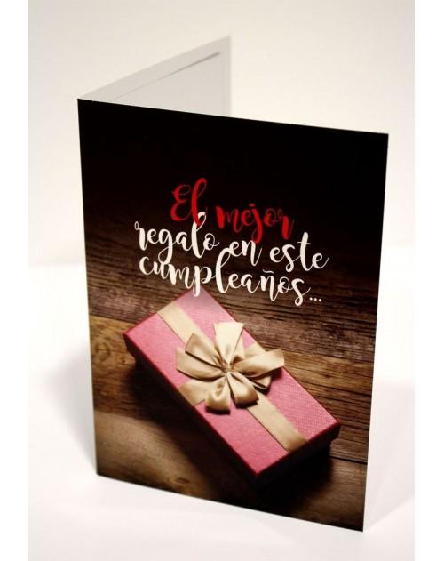 Tarjeta Cristiana Felicitacion - El Mejor Regalo