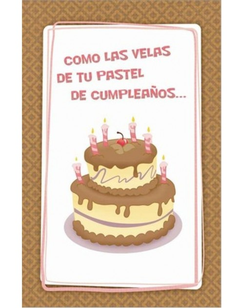 Tarjeta - Cumpleaños Romantico -