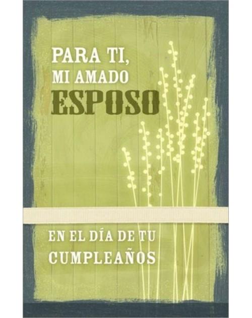 Tarjeta Cumpleaños Esposo