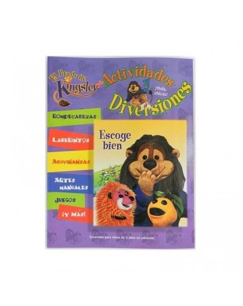 """Cuaderno El Prado de Kingsley """"Escoge Bien"""""""
