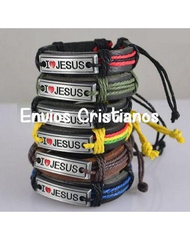 Pulsera Amo a Jesus