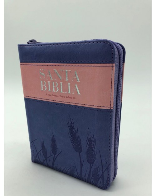Biblia Reina Valera 1960 color rosa con concordancia