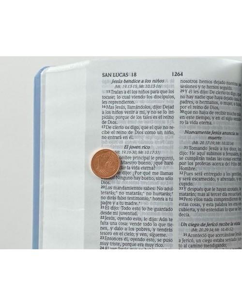 Biblia Jeans con Cierre -Reina Valera -RVR 024 cJZLGa